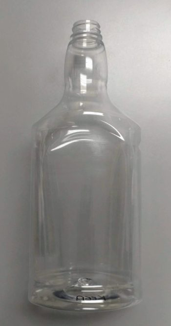 1 Liter Flask, PET, 28-400 Image