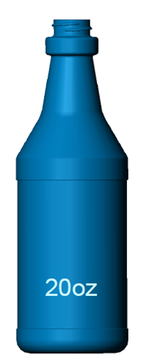 20oz. Carafe Spray Bottle Image