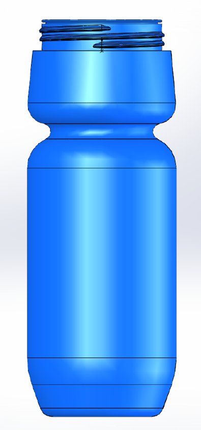 24oz. Extreme Water Bottle Image